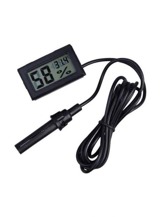 Dijital Problu Termometre -higrometre,